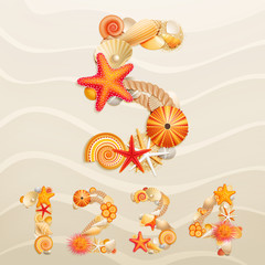 Wall Mural - sand background.
