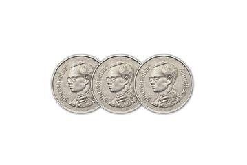 Thailand baht coins