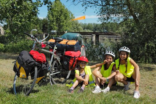 La loire en vélo enfants