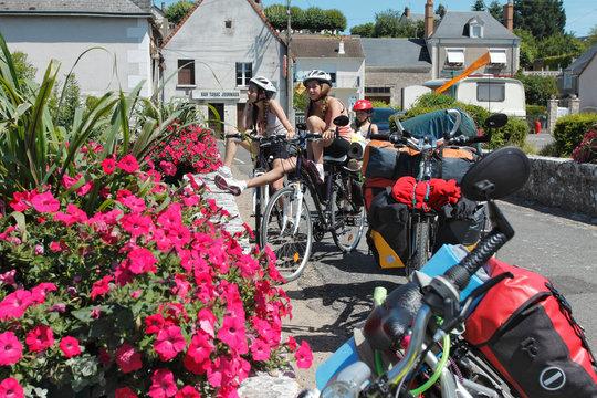 cyclotourisme en vélo