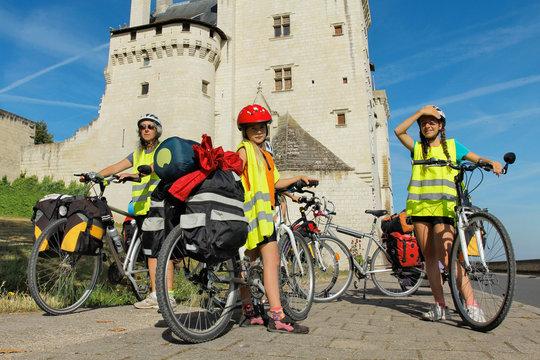 Châteaux de la loire en vélo