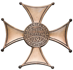 Polish military cross of White Eagle.