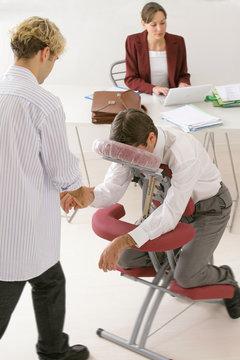 "Massage ""Amma-assis"" sur lieu de travail"