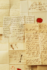 Correspondence from the 1800's