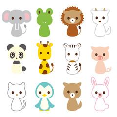 動物 12種類