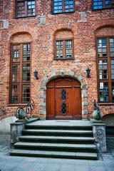 Tenement stairs in Elblag City, Poland