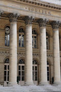 France, la Bourse de Paris