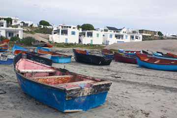 Fishing vessels at Paternoster South Africa