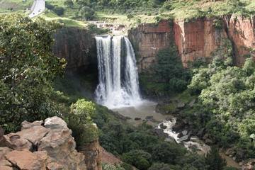 The Elands River Waterfall at Waterval Boven
