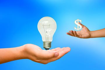 Energy sales.