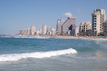Tel-Aviv beech
