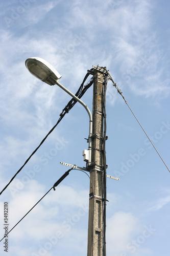lampadaire electrique
