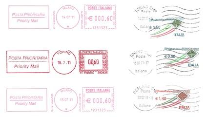 italian postmarks