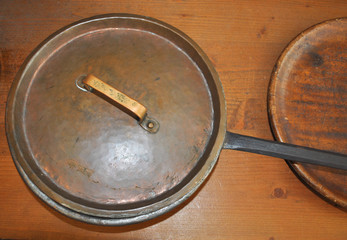 Vintage frying pan
