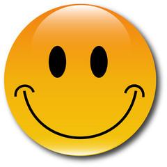 Happy Smiley web Button