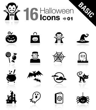 Basic - Halloween icons