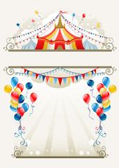 Circus frame