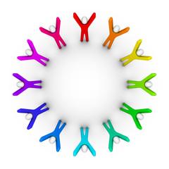 Circle of peoples