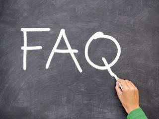 FAQ, question blackboard