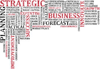 Business Words Collage 3