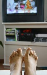 détente devant la tv