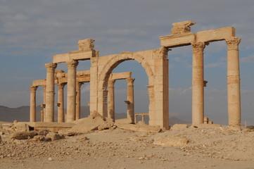 Colonnade. Palmyra. Syria