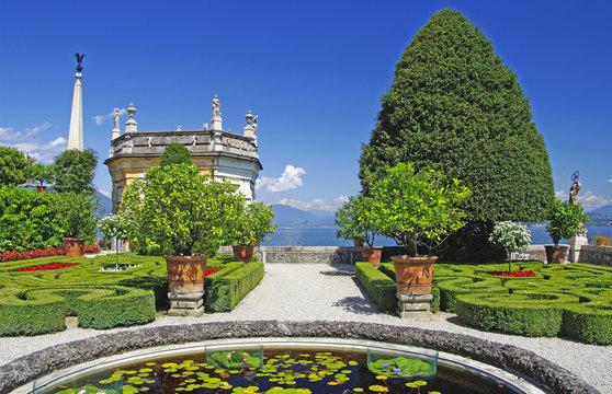Insel Isola Bella - Lago Maggiore