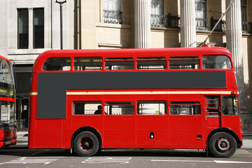 Foto op Aluminium Londen rode bus London Route Master Bus
