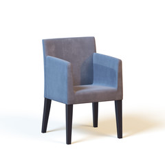 armchair on a white background