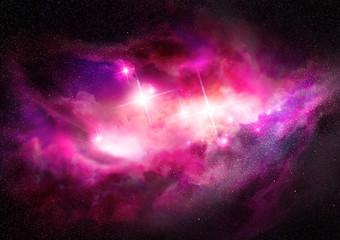 Space Nebula - Interstellar Cloud