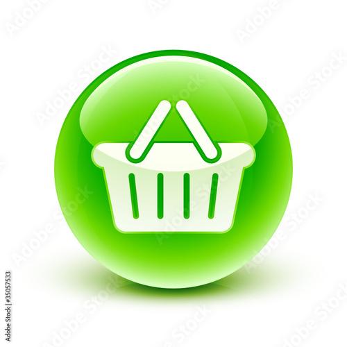 ic ne panier achat shopping cart icon fichier vectoriel libre de droits sur la banque d. Black Bedroom Furniture Sets. Home Design Ideas