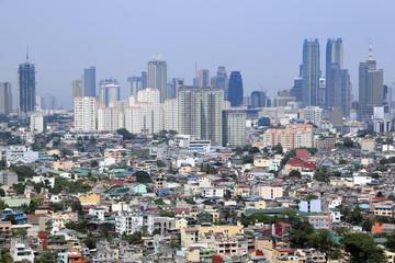urban sprawl makati city manila