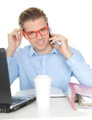 telefonieren am arbeitsplatz