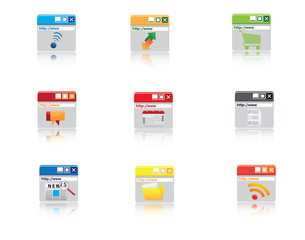 Web Icons, Internet & Website icons, office & universal icons, i