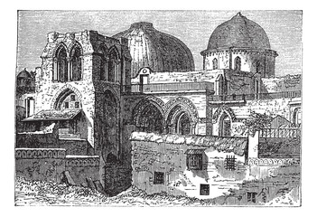 Church of the Holy Sepulchre or Church of the Resurrection in Je