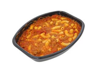 Macaroni and beef meal