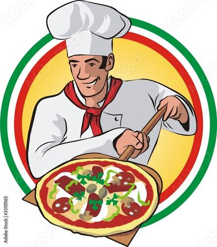 """Pizza Logo"""" fichier vectoriel libre de droits sur la banque d'images ..."""