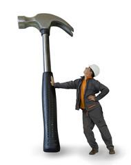 Bricolage - le marteau géant