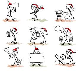 Funny man -- christmas