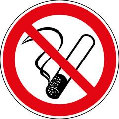 Verbotsschild Rauchen verboten Zeichen Symbol Schild