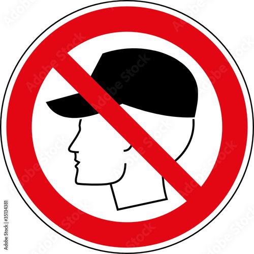verbotsschild m tze tragen verboten zeichen symbol stockfotos und lizenzfreie vektoren auf. Black Bedroom Furniture Sets. Home Design Ideas