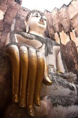 Big buddha Sukhothai,Thailand