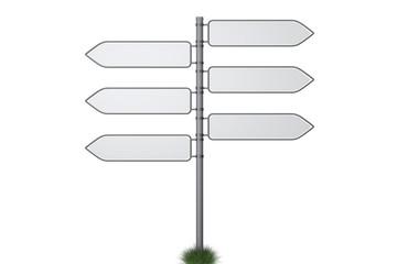 Entscheidungsfindung mit Wegweisern