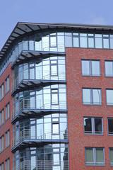 modernes Bürogebäude, Hamburg