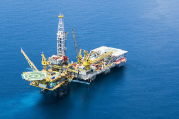 Oil Rig, Malaysia