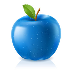 Delicious blue apple