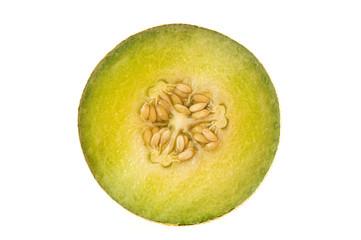 Half of melon
