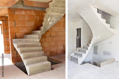 Escalier b ton photo libre de droits sur la banque d 39 images f - Escalier colimacon beton prix ...