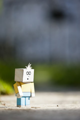 sad character
