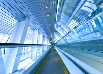 abstract angle of view to passenger transport
